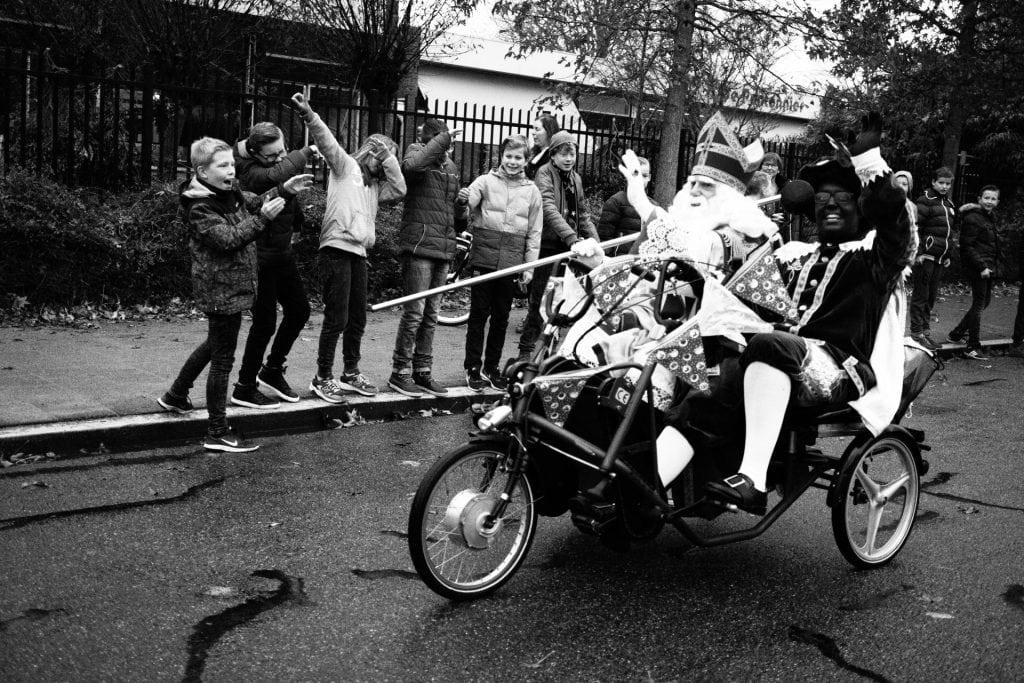 biking Sinterklaas