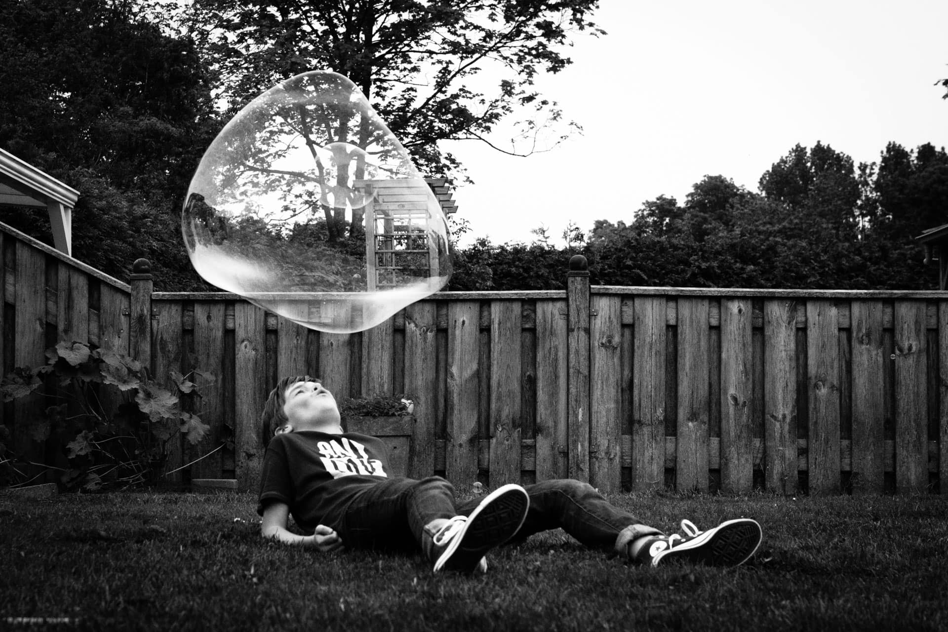 Bubble Boy | Daily Observations