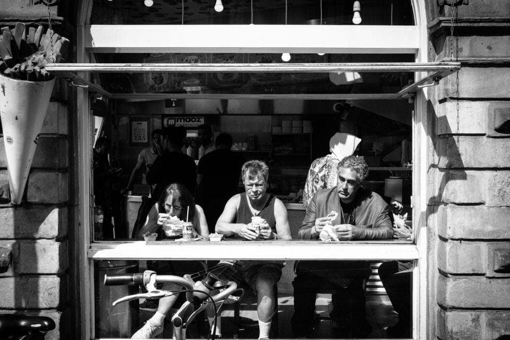 Window Dining Daily Observations Street Photography