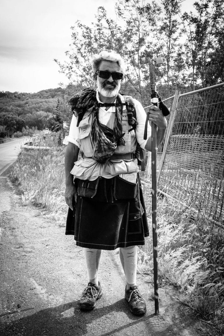 The Pilgrim... Tuscany, Italy. Daily Observations by Guillaume Groen.