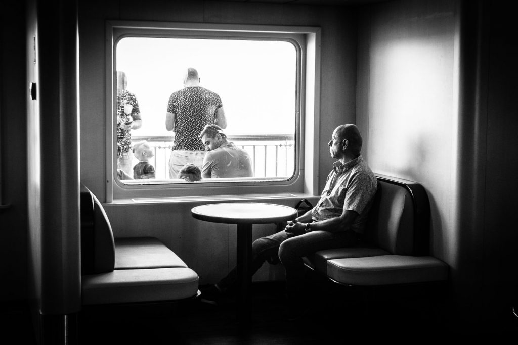 The street photography equipment I use helps me to shoot from the inside out.
